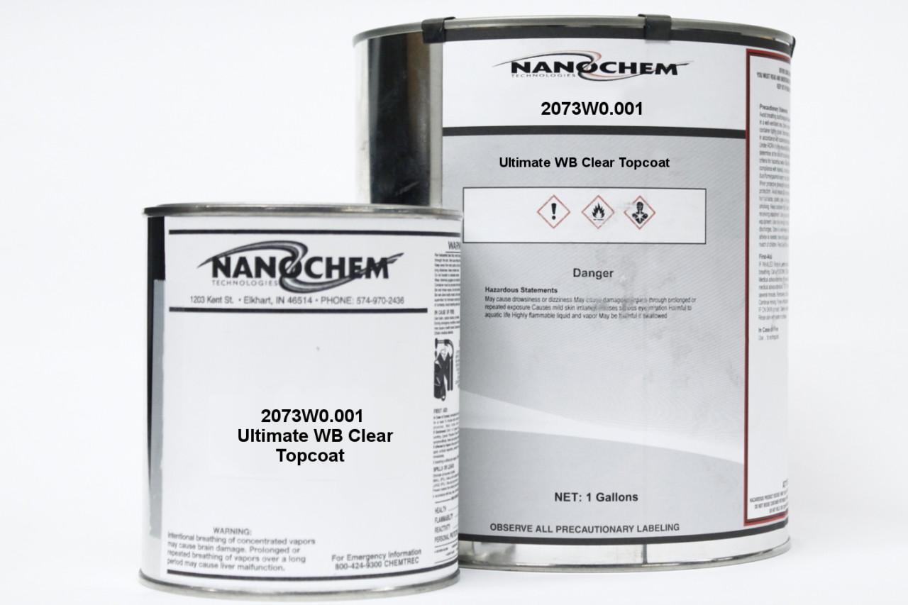 Nanochem Waterborne Dead Flat Topcoat 2073W0.001