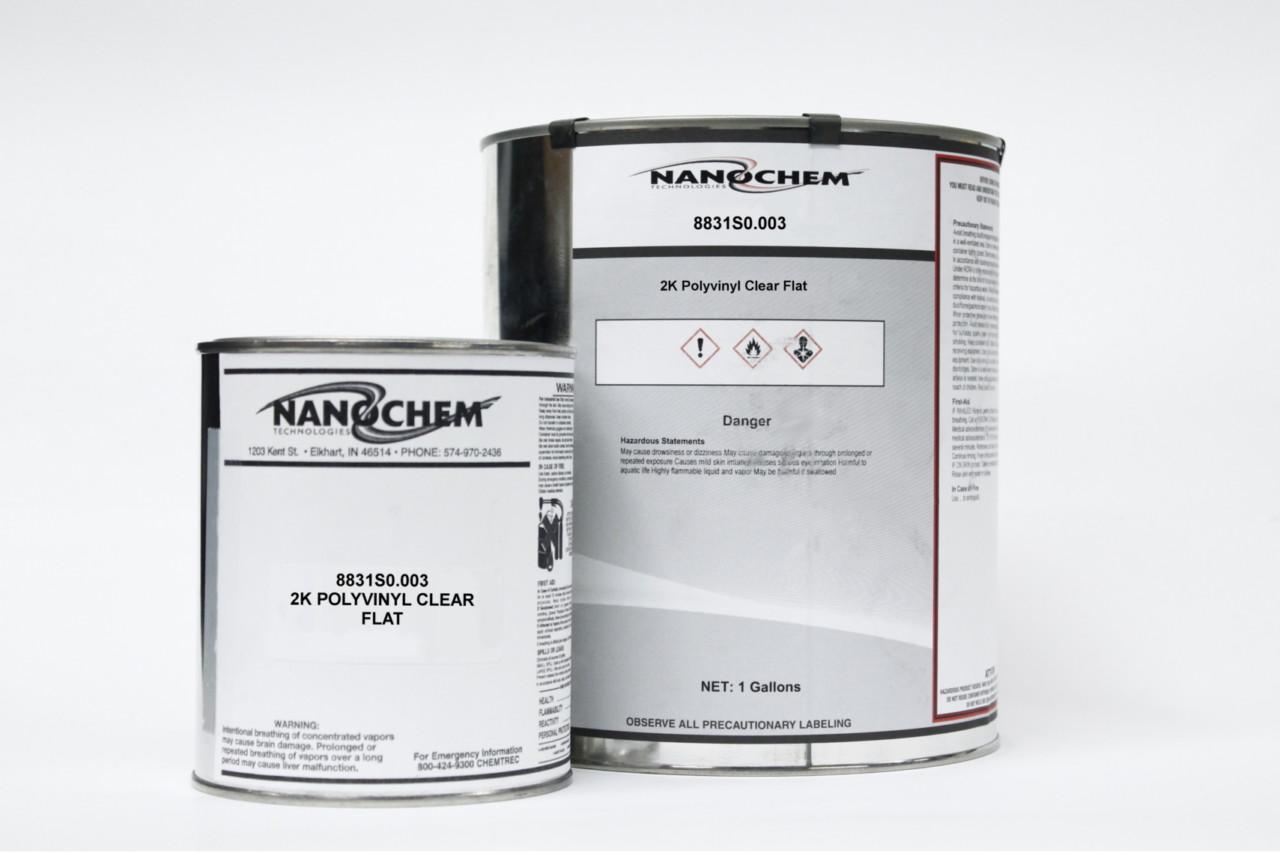Nanochem Polyvinyl Clear Flat (0% Gloss) 8831S0.003