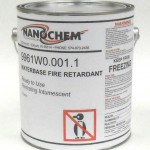 Nanochem fireproof wood coating