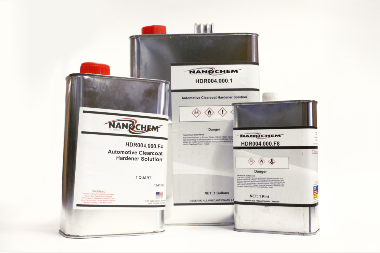 link to nanochem HDR 004 automotive clear coat hardener